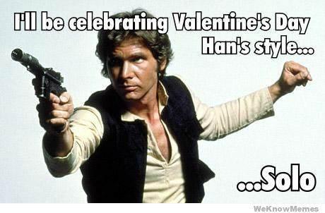 valentine Han Solo