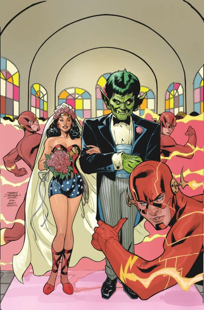 Wonder Woman #38 by Terry & Rachel Dodson