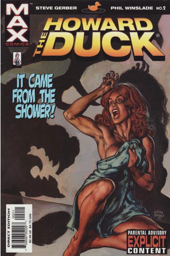 MAX Comics Howard the Duck