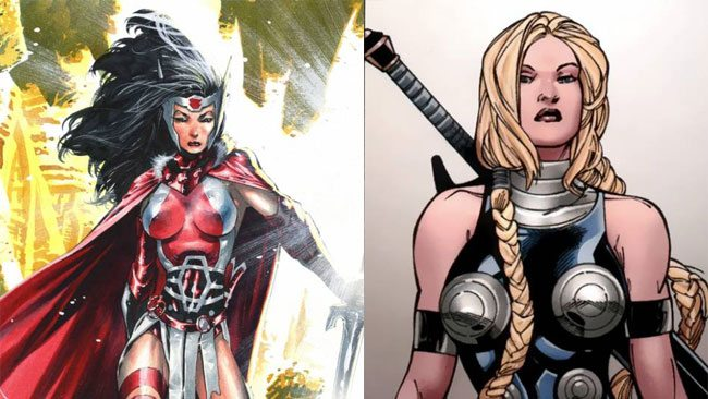 New-Thor-Sif-Valkyrie
