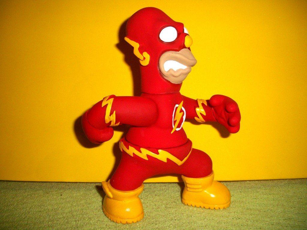 The Flash Homer Simpson Parody