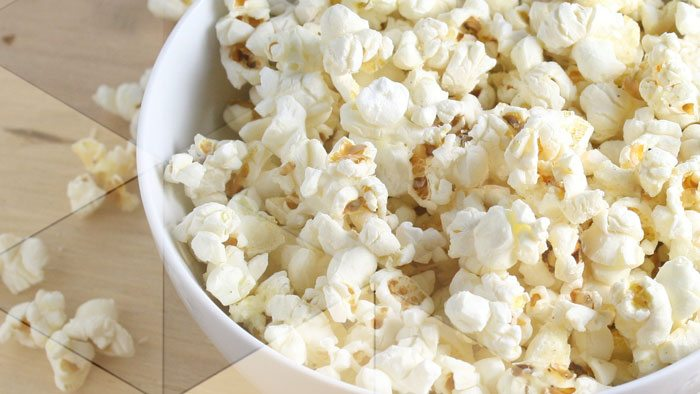 Killer Carbs popcorn