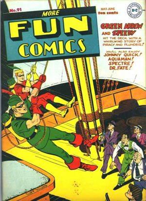 More fun comics 91 Green Arrow