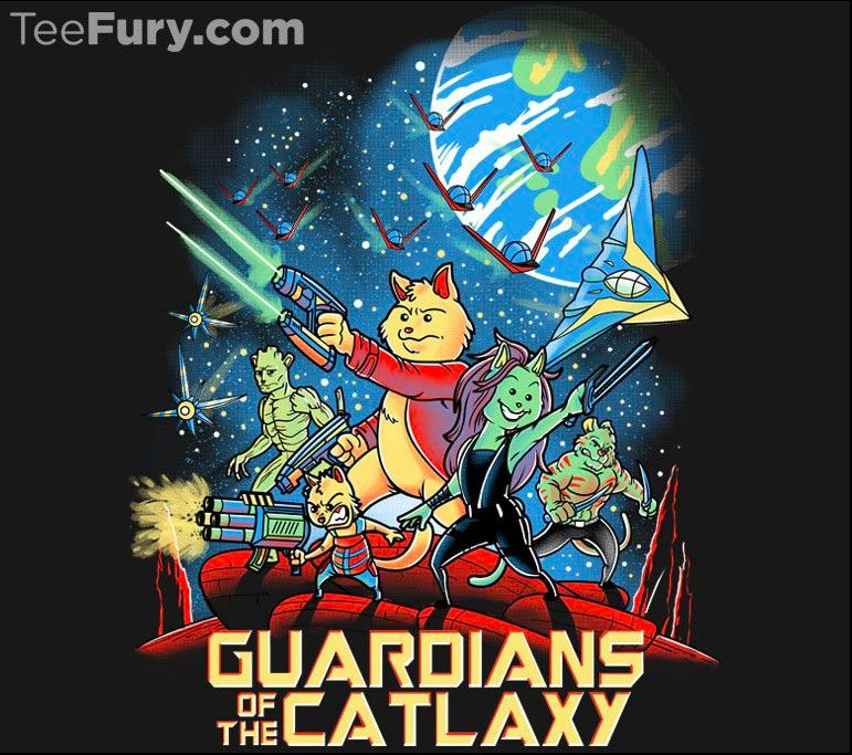 Guardians of the Catlaxy by trheewood