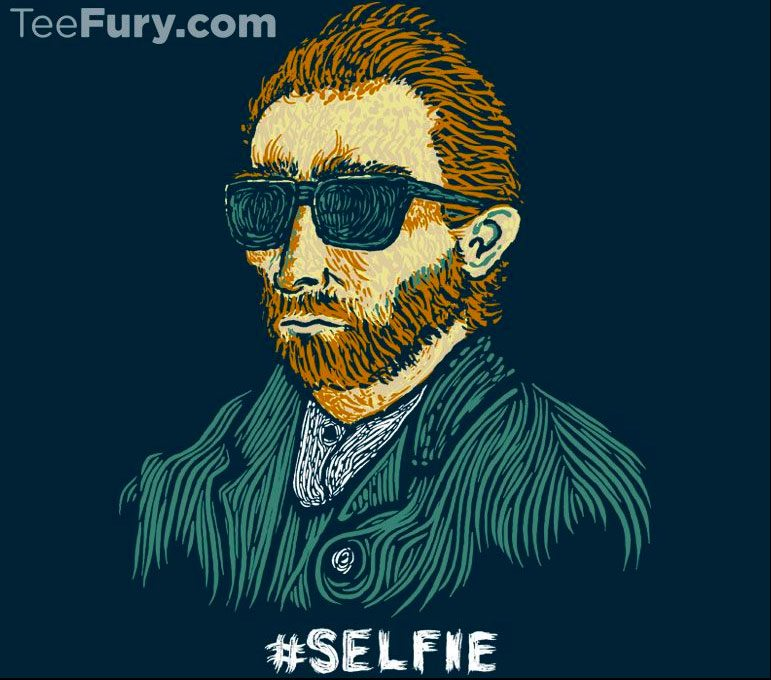 Tee-Fury-Selfie