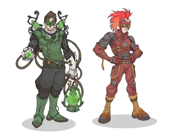 green_lantern_and_the_flash_by_murderousautomaton