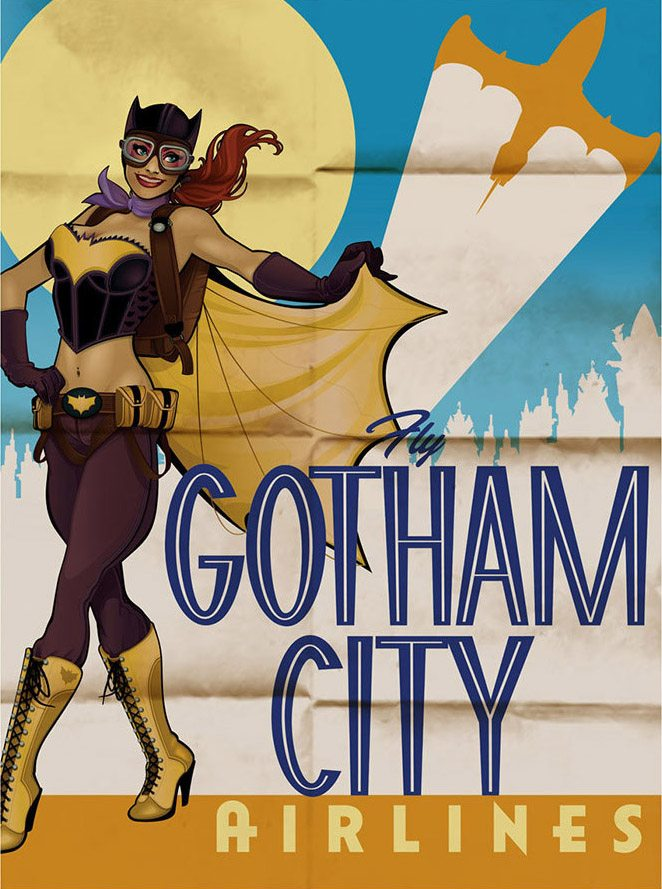 DC Bombshell Batgirl