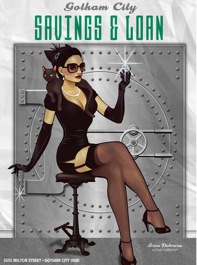 DC Bombshell Catwoman