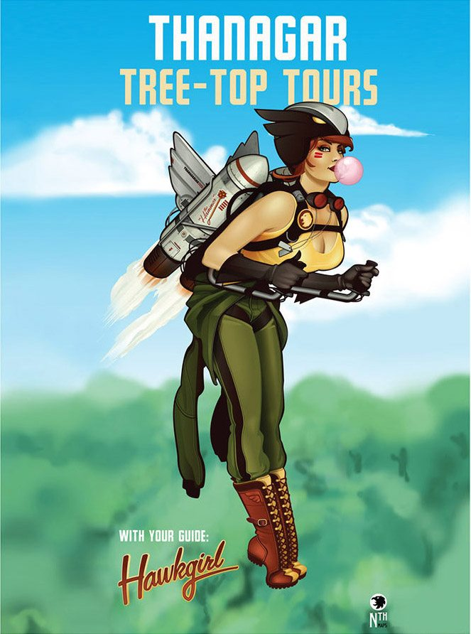 DC Bombshell Hawkgirl