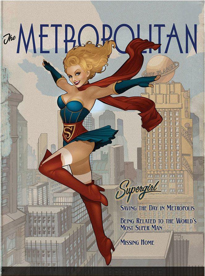 DC Bombshell Supergirl