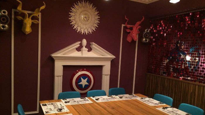 Where Avengers Dine