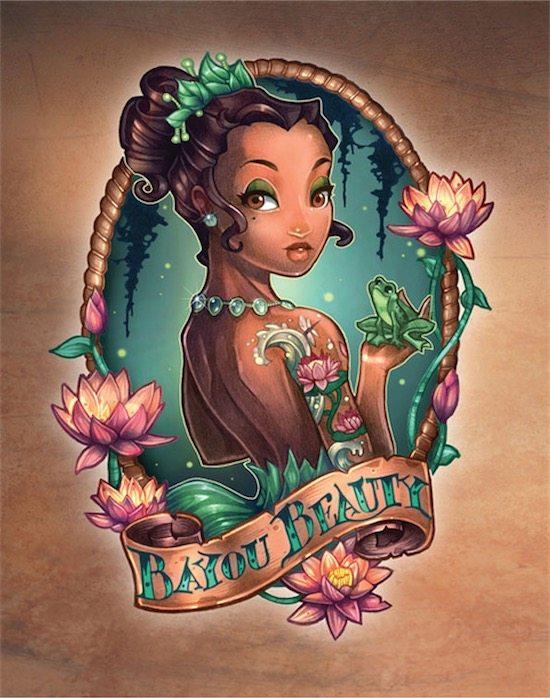 disney-princess-tattoo-pin-up-Tiana