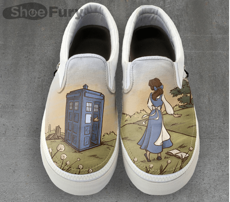 Doctor Who Sneakers top