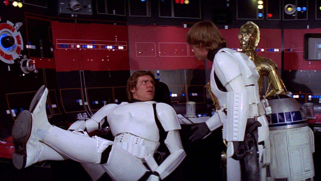 Han & Luke as Stormtroopers
