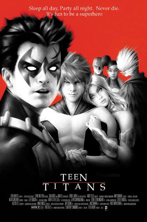 "Teen Titans #08 by Alex Garner based on ""The Lost Boys."""