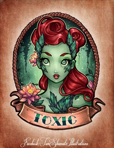 Tim Shumate Poison Ivy