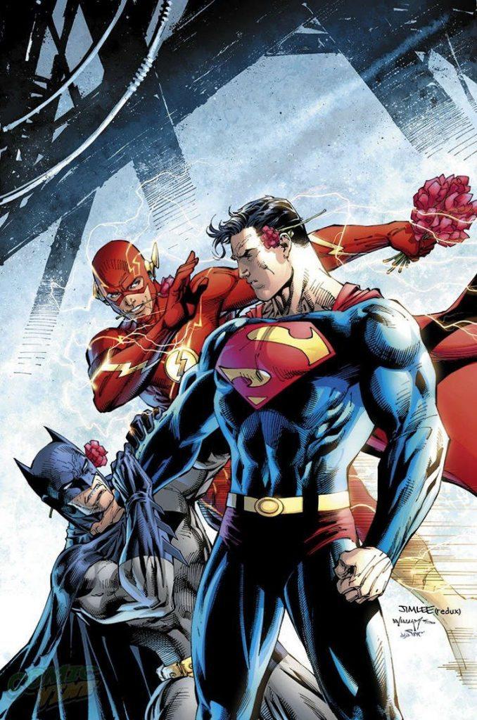 Batman-Superman #18 by Jim Lee