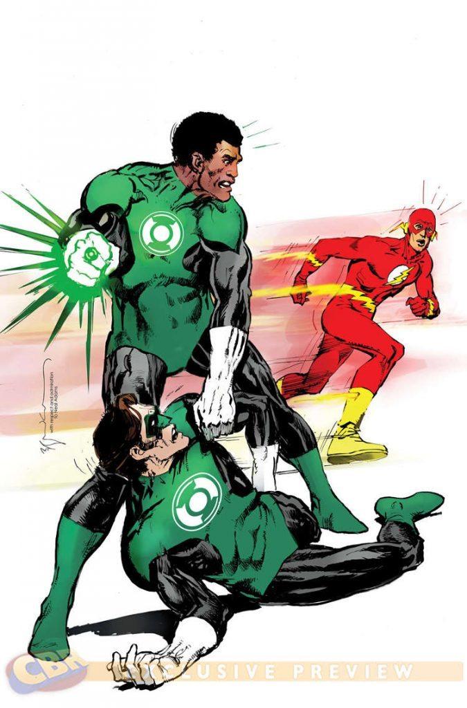 Green Lantern Corps #38 by Bill Sienkievicz