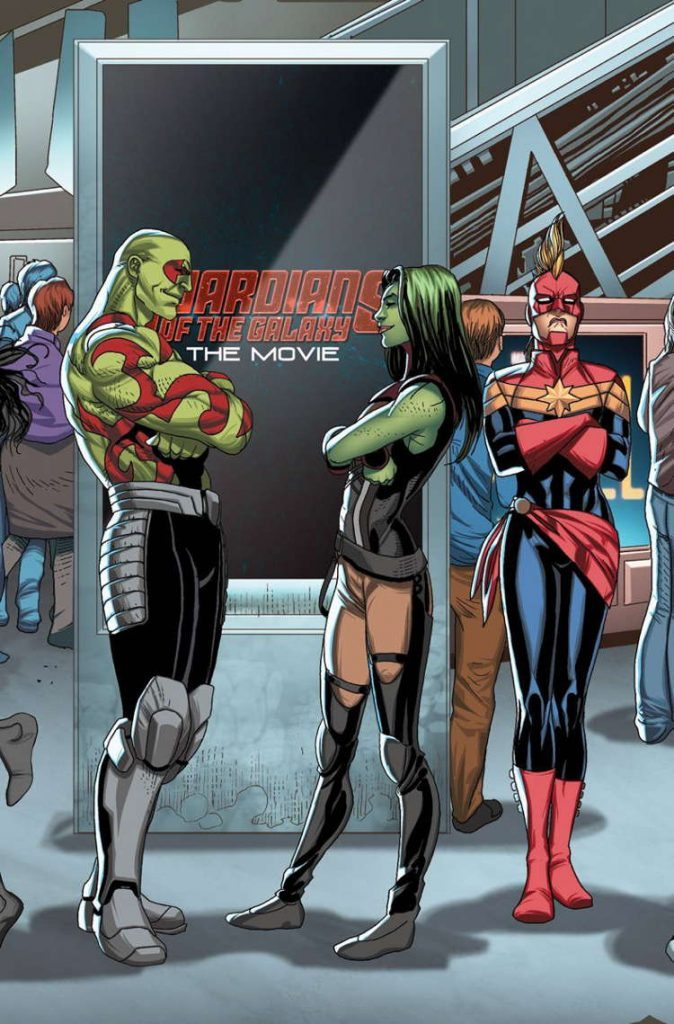 Guardians of the Galaxy #23