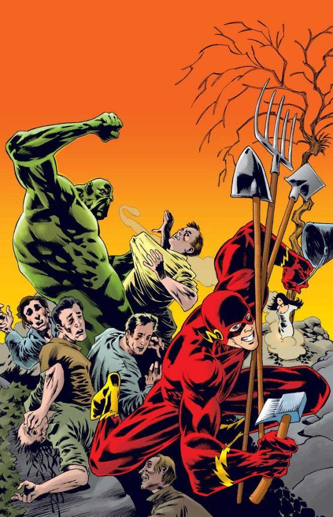 Justice League Dark #38 by Kelley Jones