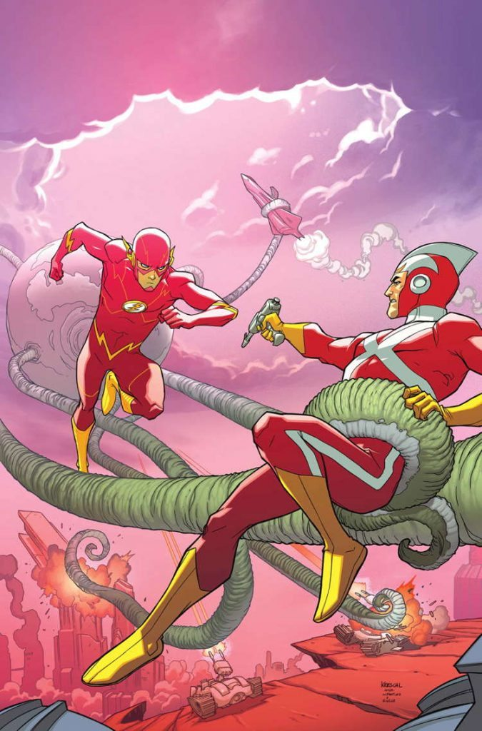 Justice League United #08 by Karl Kerschl & Dave McCaig