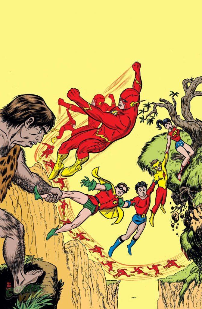 New Teen Titans #06 by Michael Allred & Laura Allred