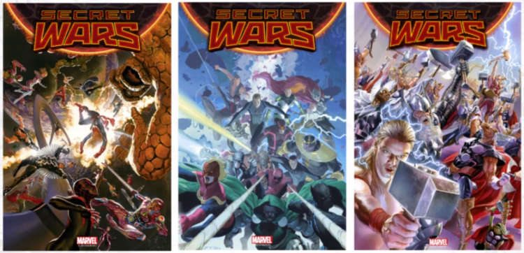 Covers by Alex Ross