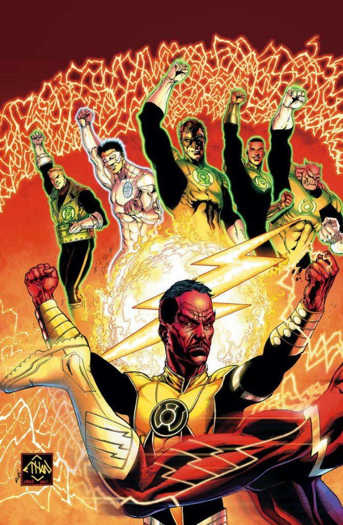 Sinestro #09 by Ethan Van Sciver & Alex Sinclair