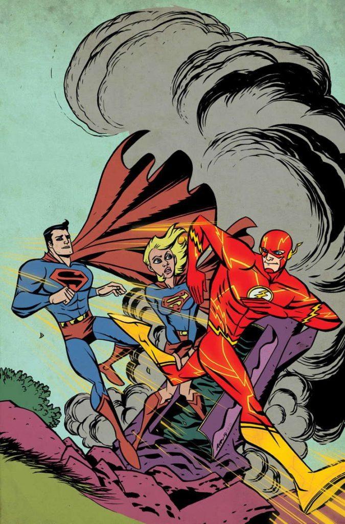 Supergirl #38 by Michael Avon Oeming & Rico Renzi