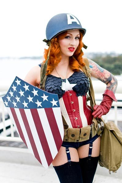 POTW-Gender-bend-Cosplay-Captain-America
