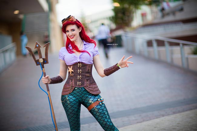 Steampunk-Cosplay-Ariel
