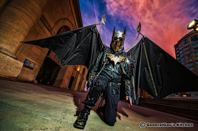 Steampunk-Cosplay-Batman