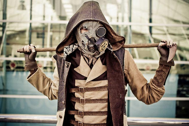 Steampunk-Cosplay-Scarecrow