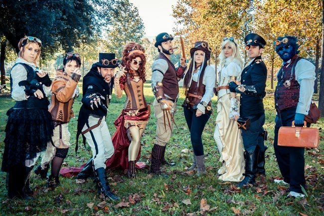 Steampunk-Cosplay-Xmen