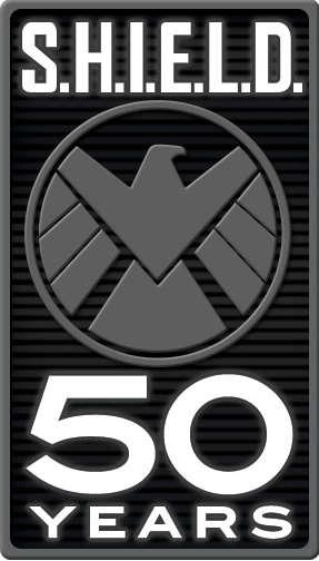 S.H.I.E.L.D. 50th Anniversary Logo