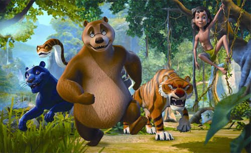 10) The Jungle Book