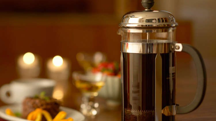3) French Press