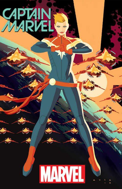Captain Marvel #1 Cover