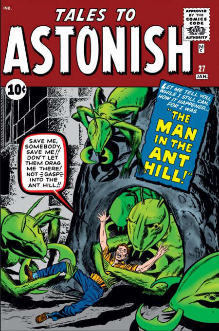Tales to Astonish #27 - First Appearance of Hank Pym
