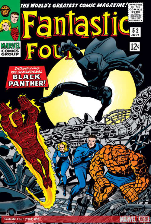 First Appearance of Black Panther