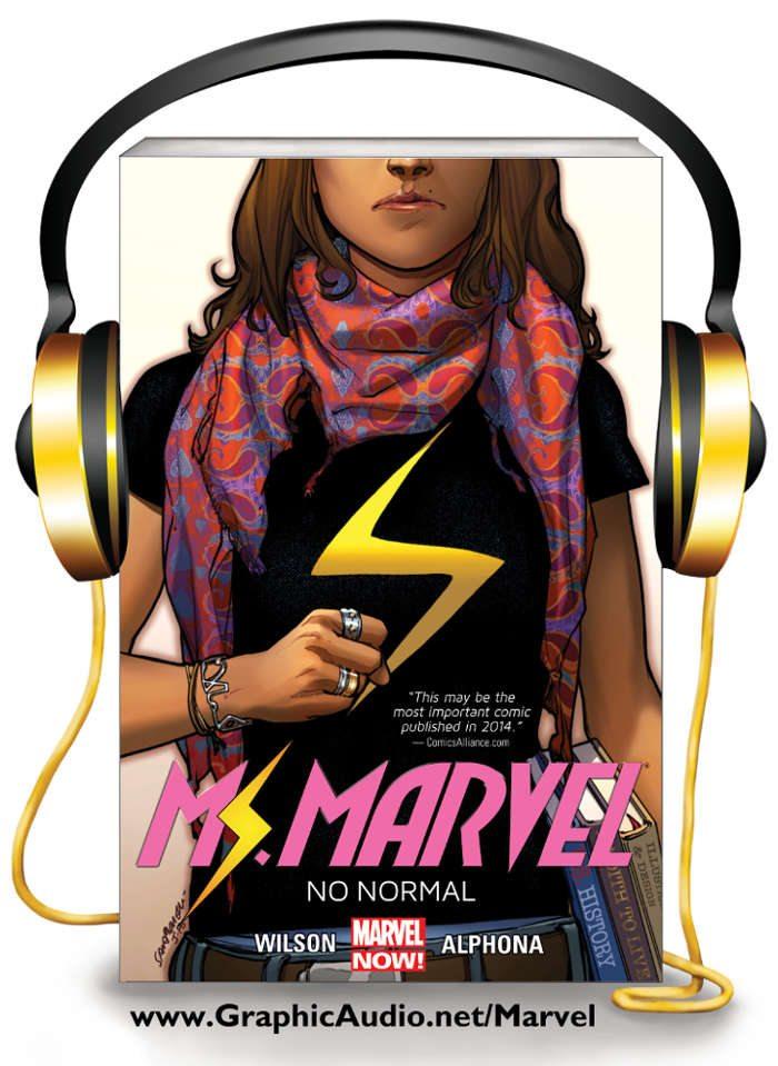 Ms Marvel GraphicAudio