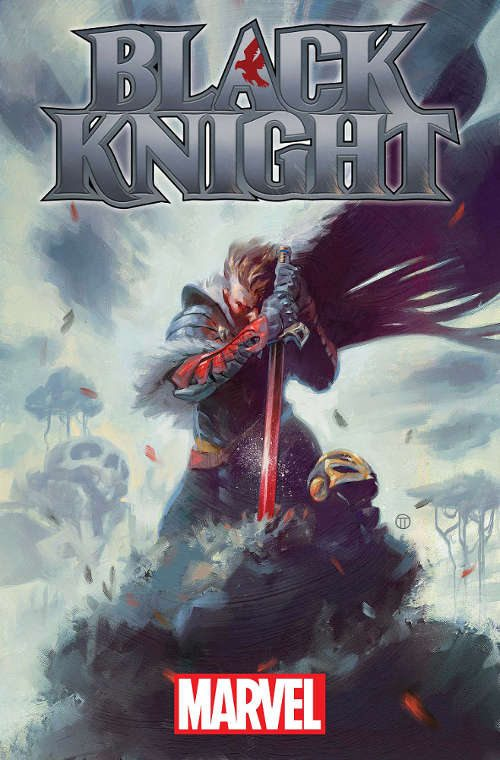 Black Knight Cover by Julian Totino Tedesco