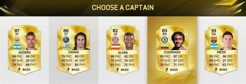 FIFA16 FUT Draft