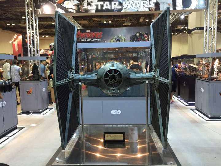 7) 1:6 Scale TIE Fighter by Hot Toys