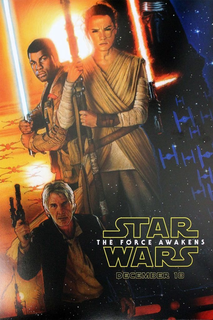 The Force Awakens D23 Promo Poster