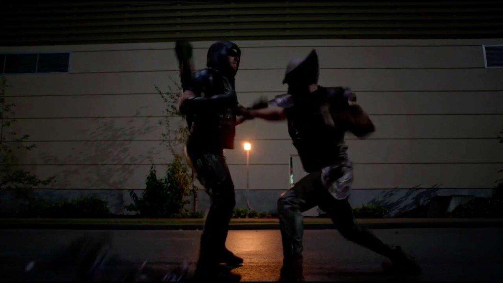 Arrow V Hawkman