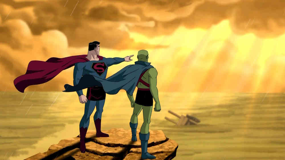Superman and Martian Manhunter