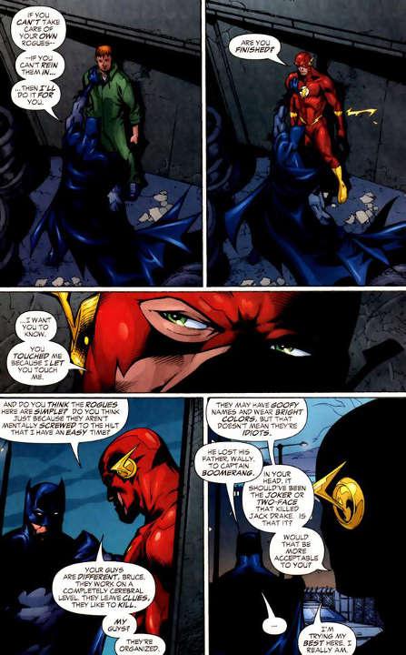 Wally West and Batman