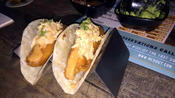 Mexout Fish Taco