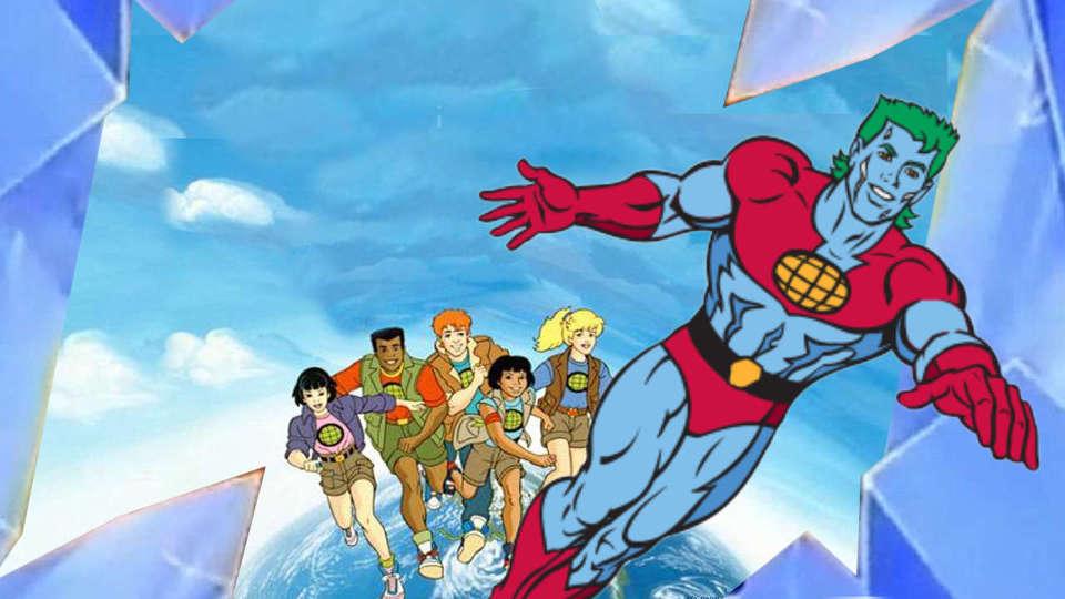 10) Captain Planet